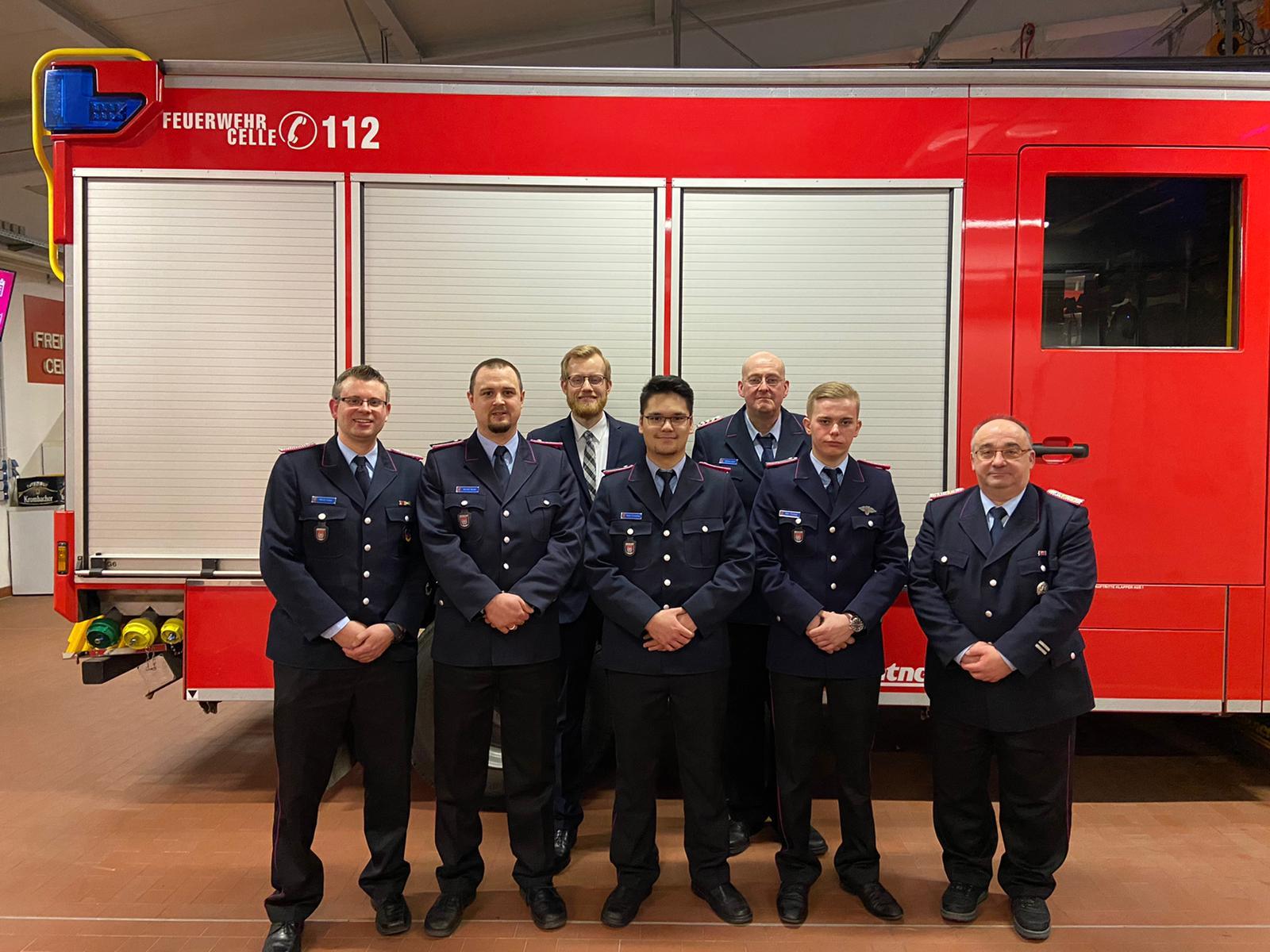 Mitgliederversammlung FF Celle- Hustedt 2020