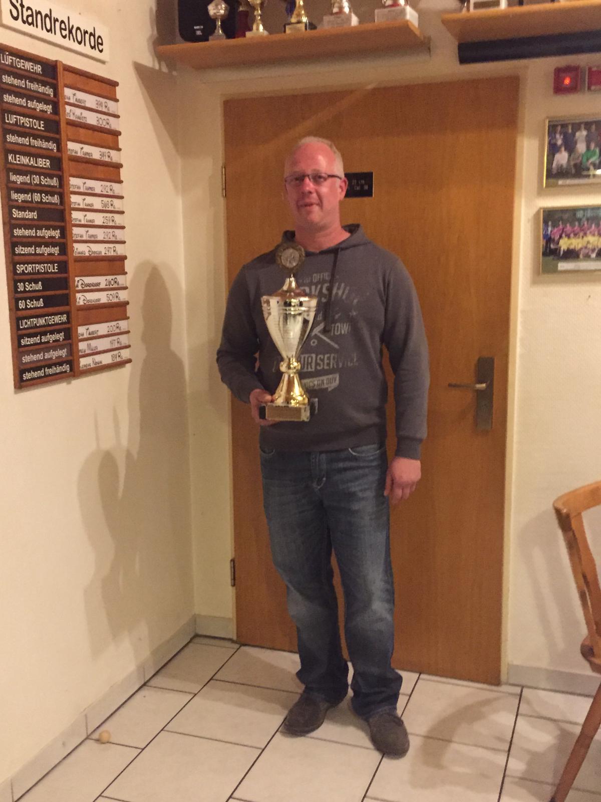Pokalsieger Michael Seefeldt